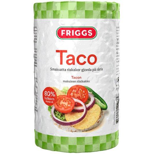 Taco-riisikakut 125g - 34% alennus