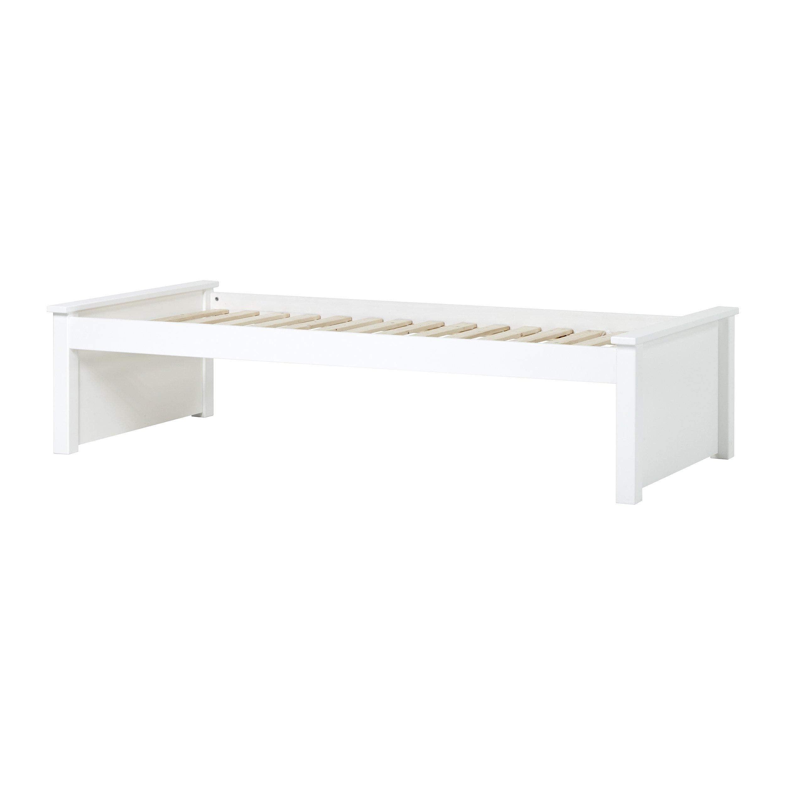 Hoppekids - MAJA DELUXE Junior bed w. 2 Low Bed ends 90x200cm - White