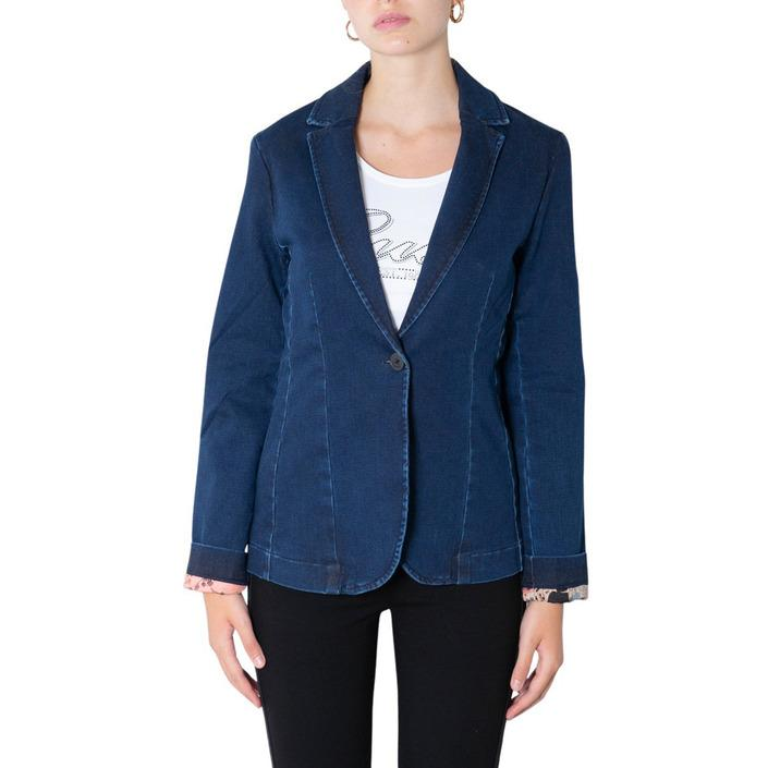 Desigual Women's Blazer Blue 305787 - blue 36