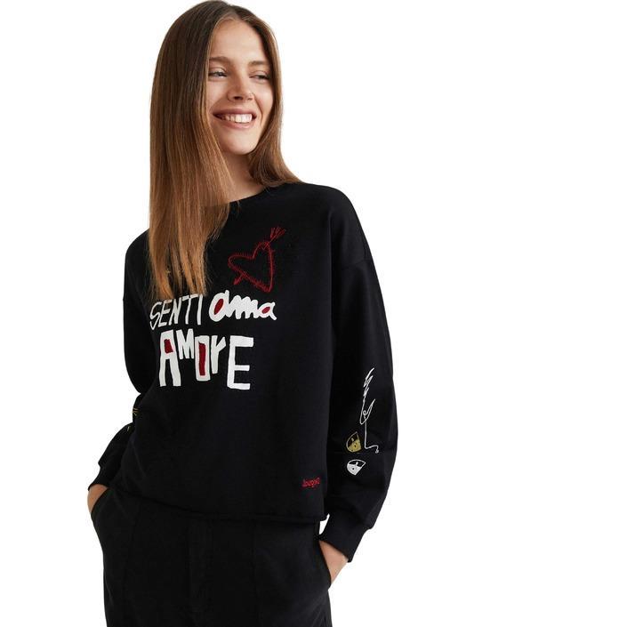 Desigual - Desigual Women Sweatshirts - black L