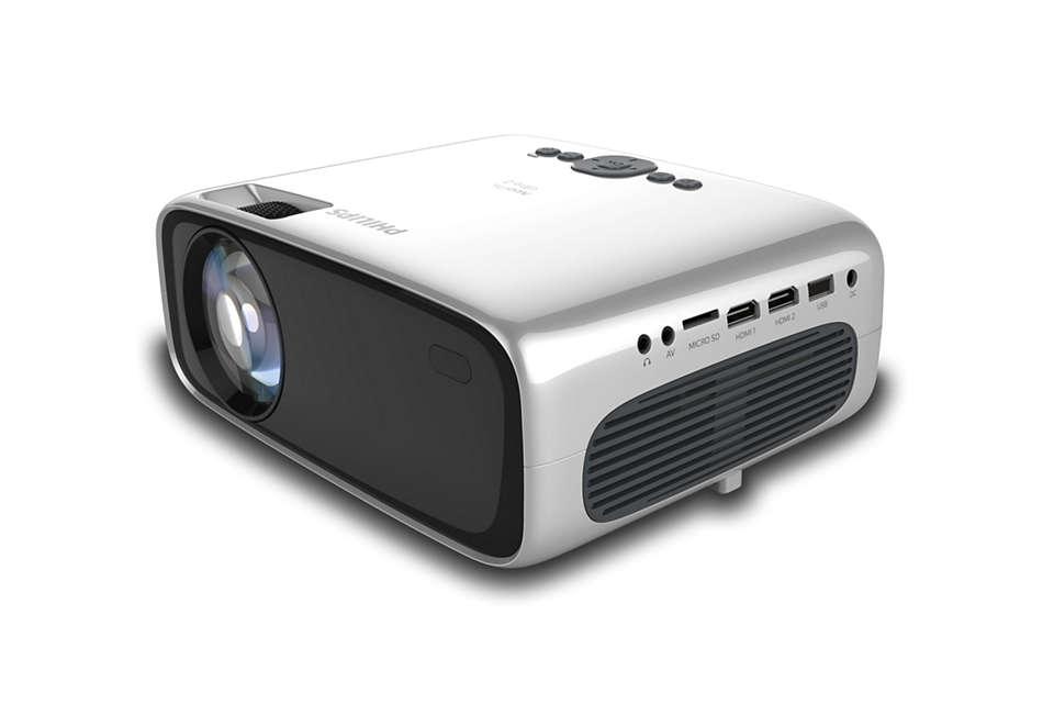 Philips - NeoPix Ultra 2 NPX642/INT Home Projector
