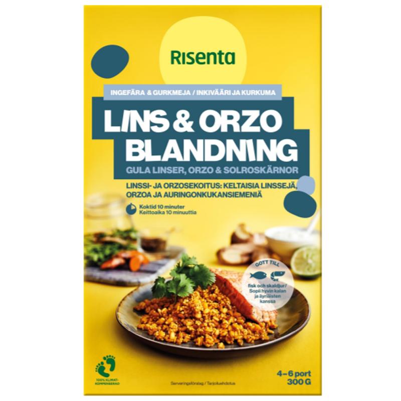 Lins & Orzoblandning 300g - 28% rabatt