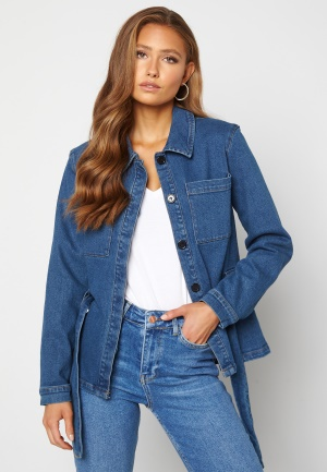 ICHI Nicole Jacket Medium Blue 34