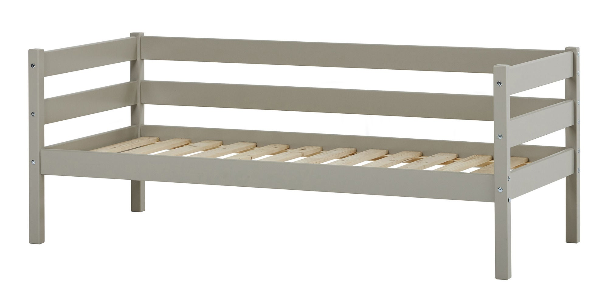 Hoppekids Juniorisänky IDA-MARIE 70x160 cm, Dove Grey