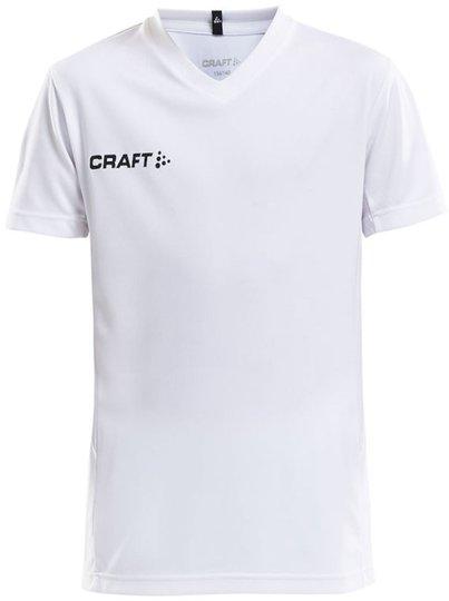 Craft Jersey T-skjorte, Hvit 122-128