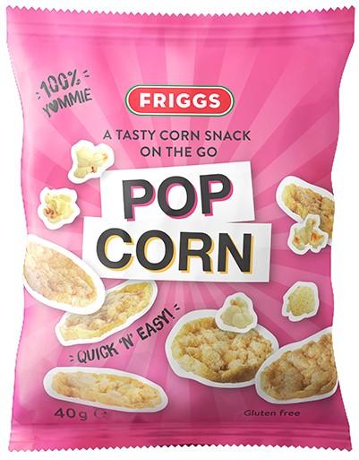 Friggs Majssnacks Popcorn 40g