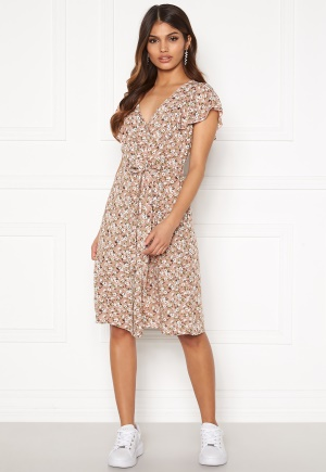 Happy Holly Fiona dress Light pink / Patterned 48/50