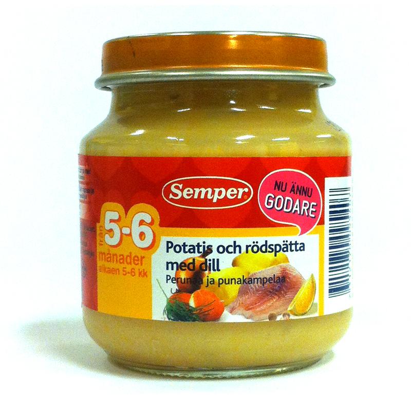 Potatis och rödspätta med dill - 19% rabatt