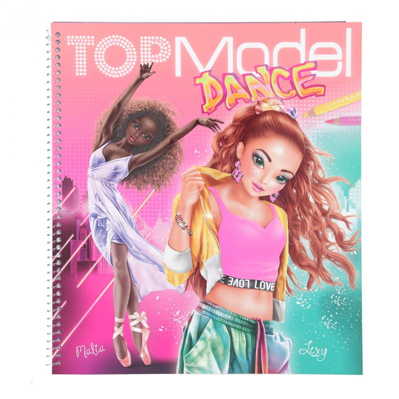 Top Model - Colouring Book - Dance (0411453)