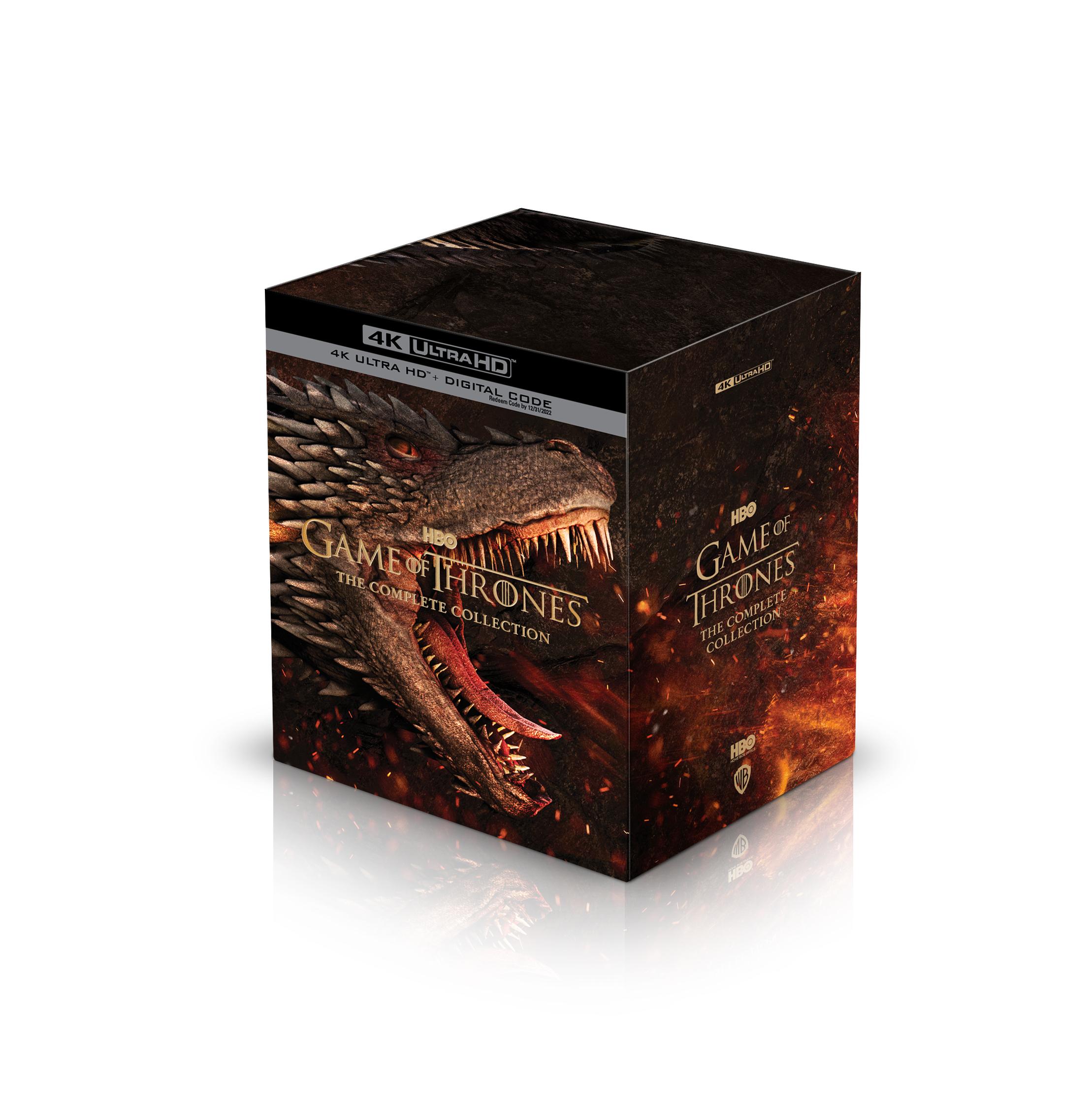 Game of thrones complete season 1 - 8 4K UHD Complete