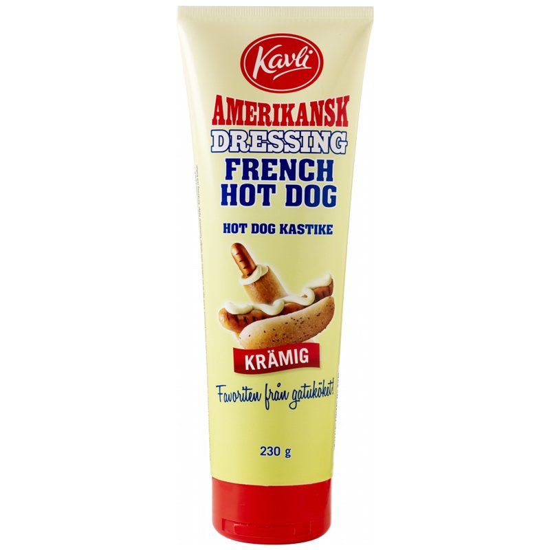 "Dressing ""French Hot Dog"" 230g - 41% rabatt"