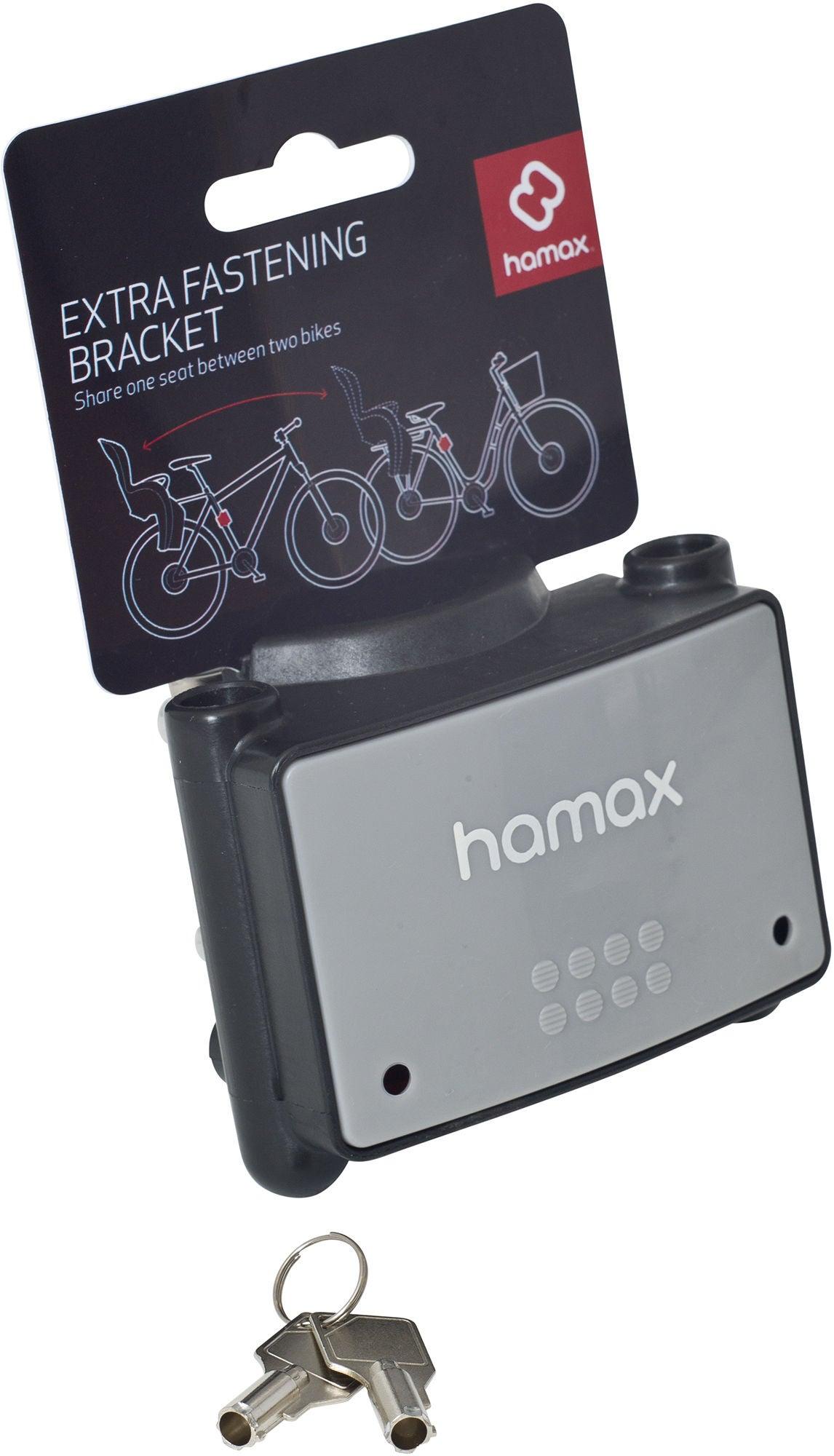 Hamax Extra Fäste med Lås till Cykelsits