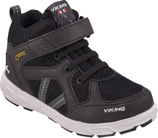 Viking Alvdal Mid GTX Sneaker, Black/Charcoal 23