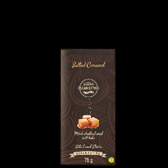 Mörkchoklad Salted Caramel, 75 g