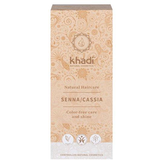 Khadi Naturlig Örthårkur Senna/Cassia, 100 g