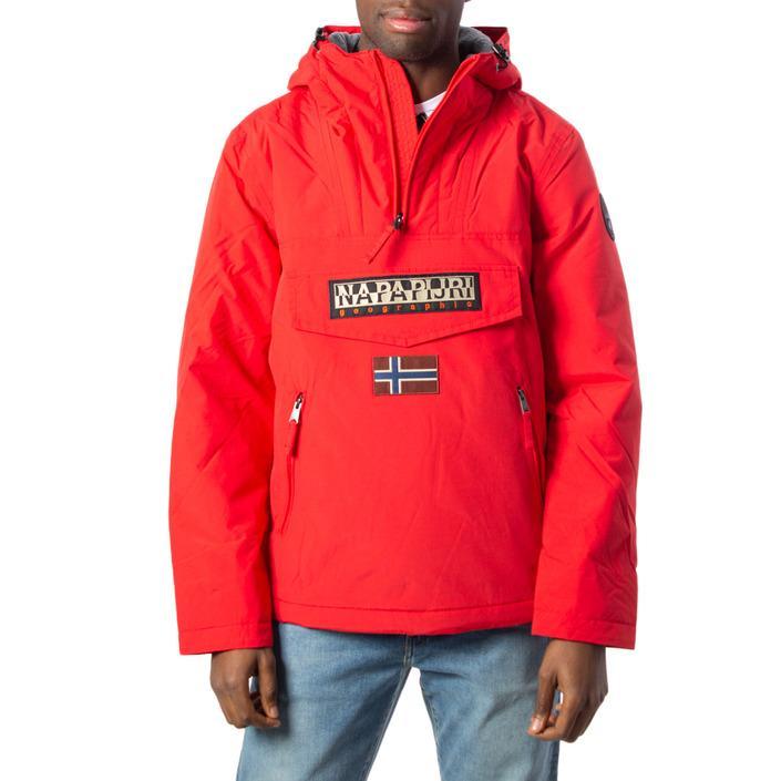 Napapijri - Napapijri Men Jacket - red XS