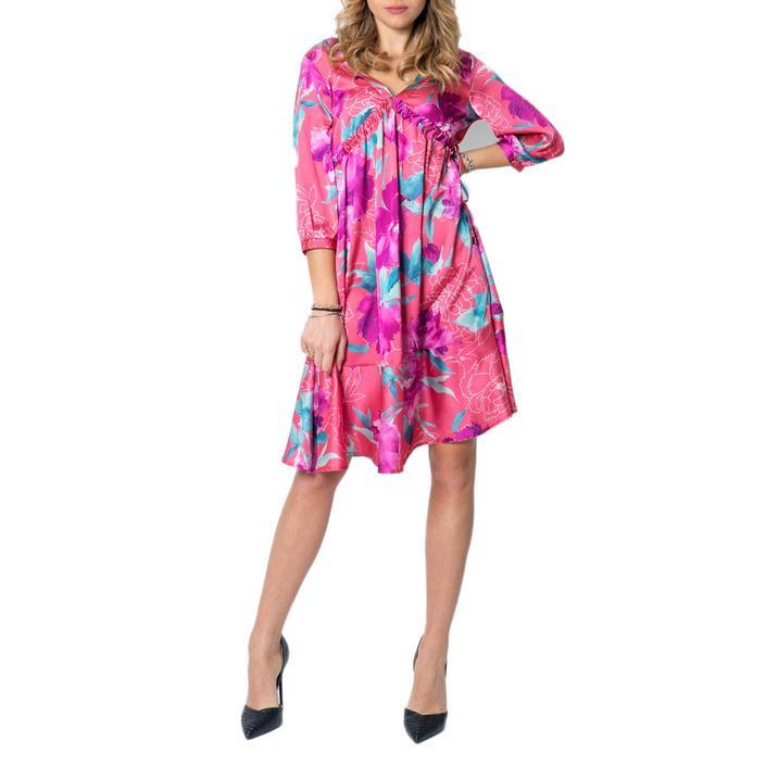 Please Women's Dress Fuchsia 171901 - fuchsia XL