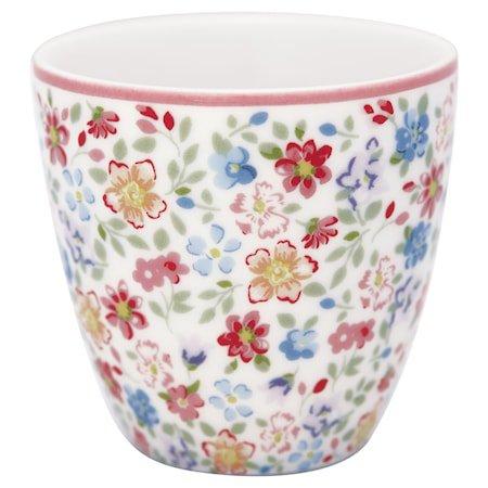 Clementine Mini Latte Cup Hvit
