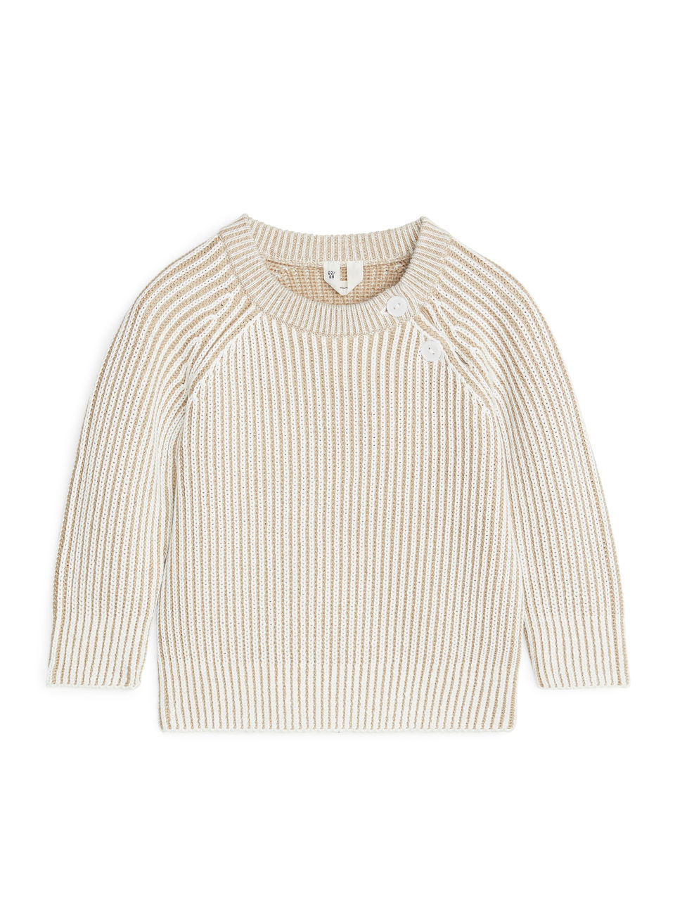 Two Toned Jumper - White