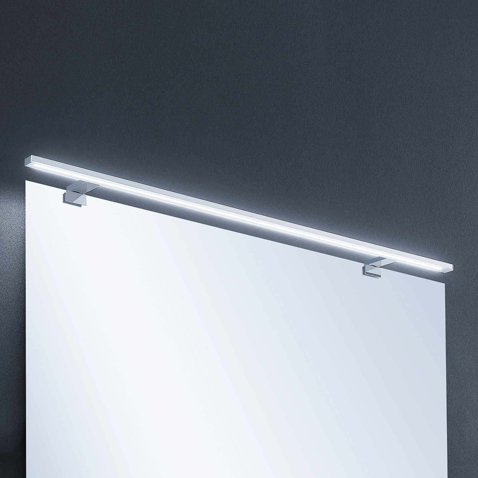 Lindby Lusano -LED-seinälamppu, alumiini