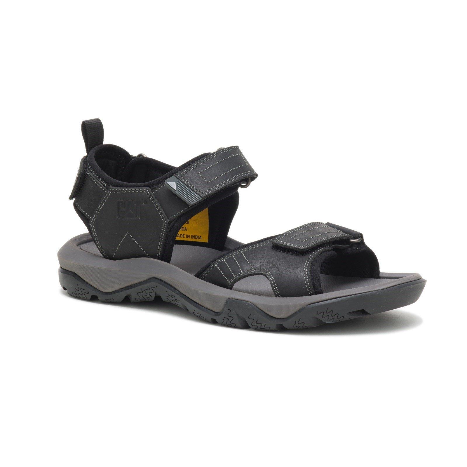 CAT Lifestyle Men's Waylon Sandal Various Colours 32269 - Black 7