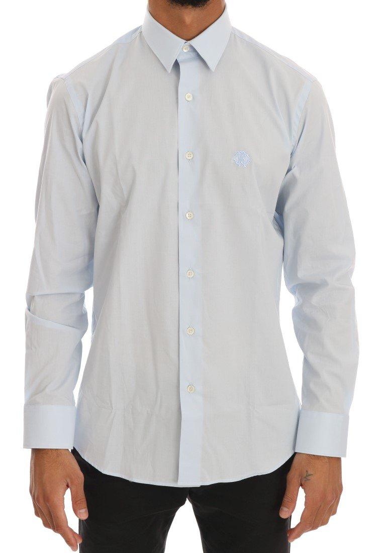 Cavalli Men's Shirt Blue TSH1483 - 39
