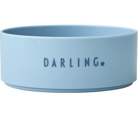 DL Skål Mini Tritan Darling, Blå