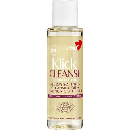 Klick Cleanse Intimate Oil, 100 ml RFSU Liukuvoide