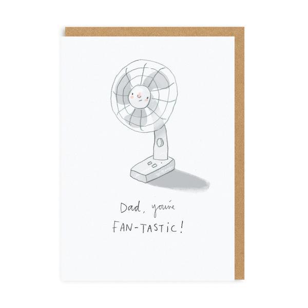 Dad You're Fan-tastic Greeting card