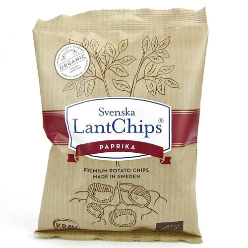 Chips Paprika 100g - 37% rabatt