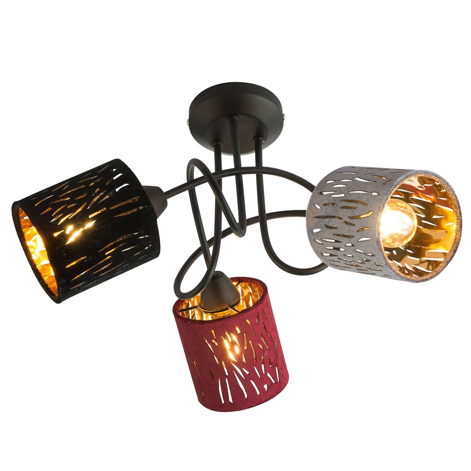 Kattovalaisin Ticon 3-lamppuinen