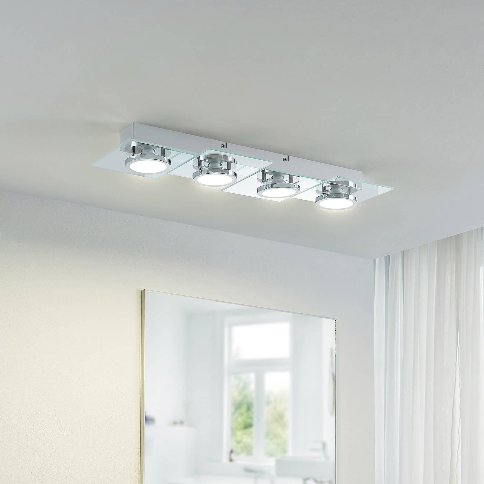 Lindby Imiria -LED-kattovalaisin, suorakulmainen