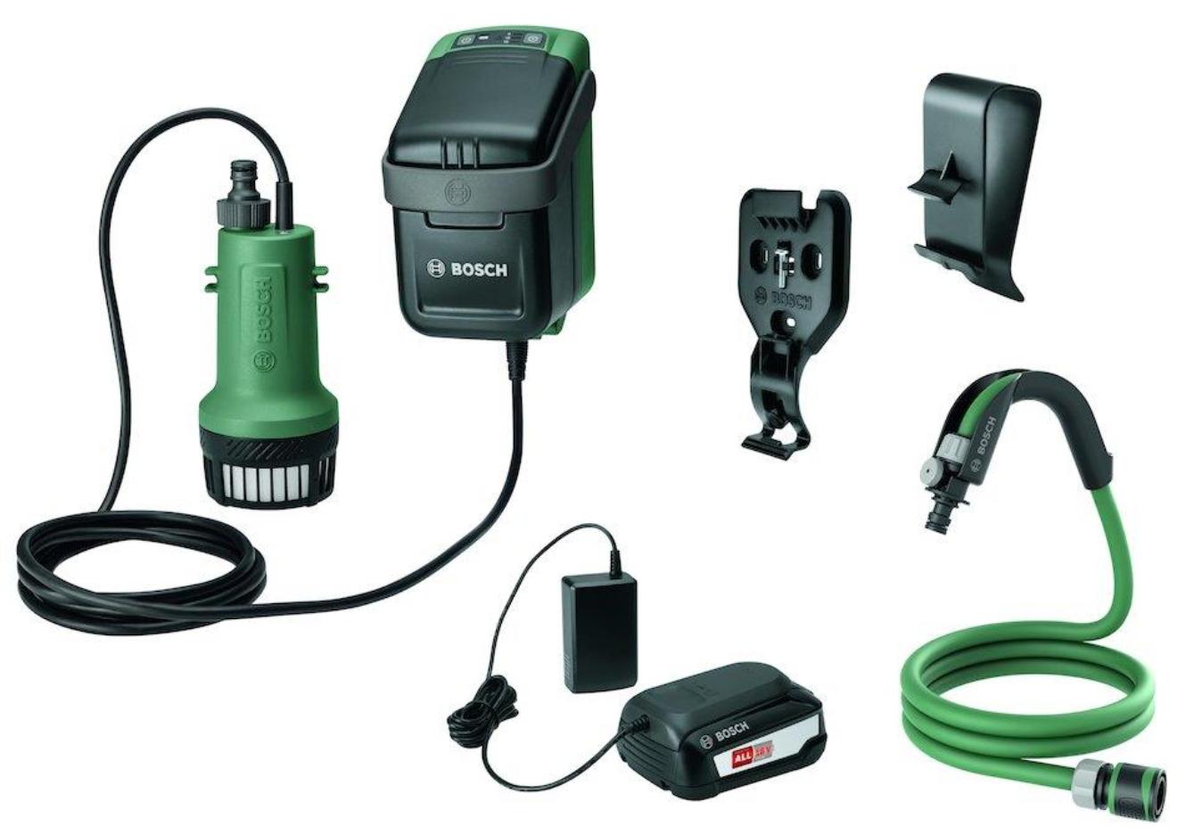 Bosch - Akku Electric Garden Pump 18V Included Battery