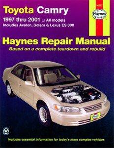 Haynes Reparationshandbok, Toyota Camry Avalon Solara, Universal