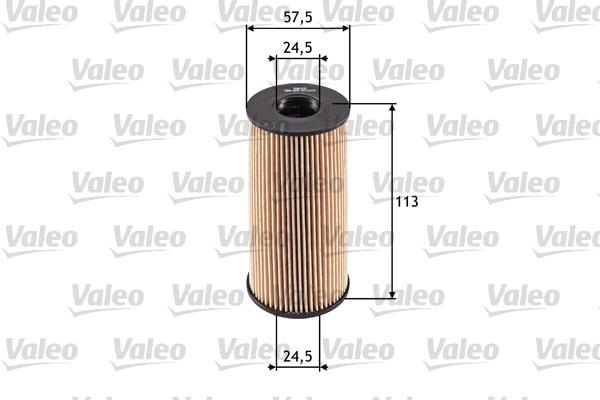Öljynsuodatin VALEO 586529
