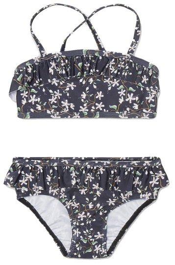 Mini A Ture Githa Bikini UV50+, Deep Well Blue, 110-116