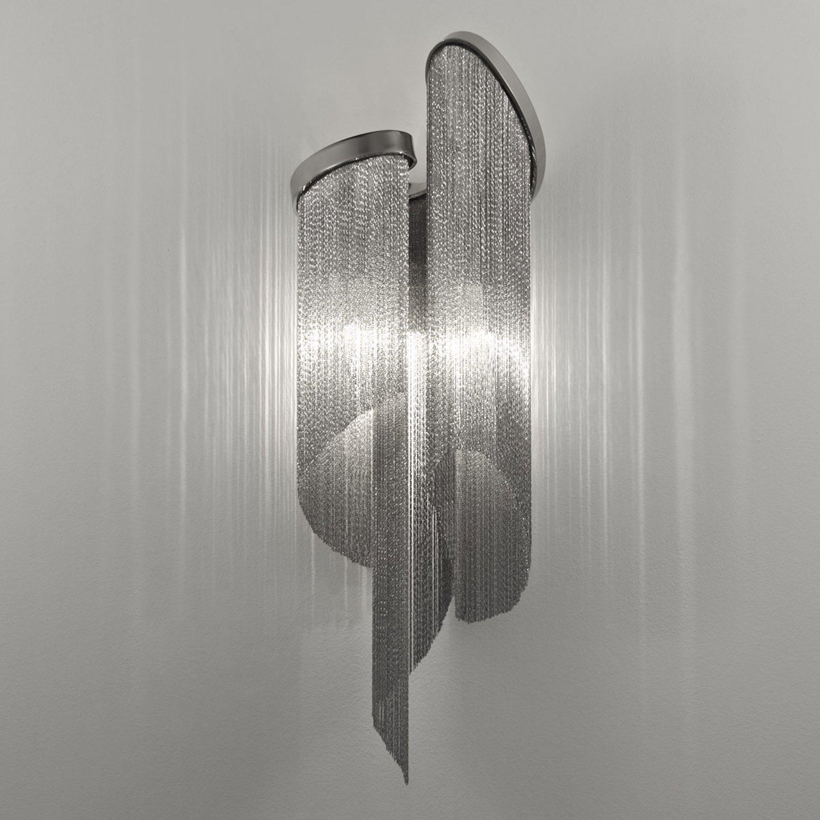 Vegglampe Stream med levende lyseffekt.