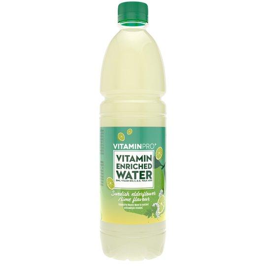 Vitaminvatten Lime & Fläder - 50% rabatt