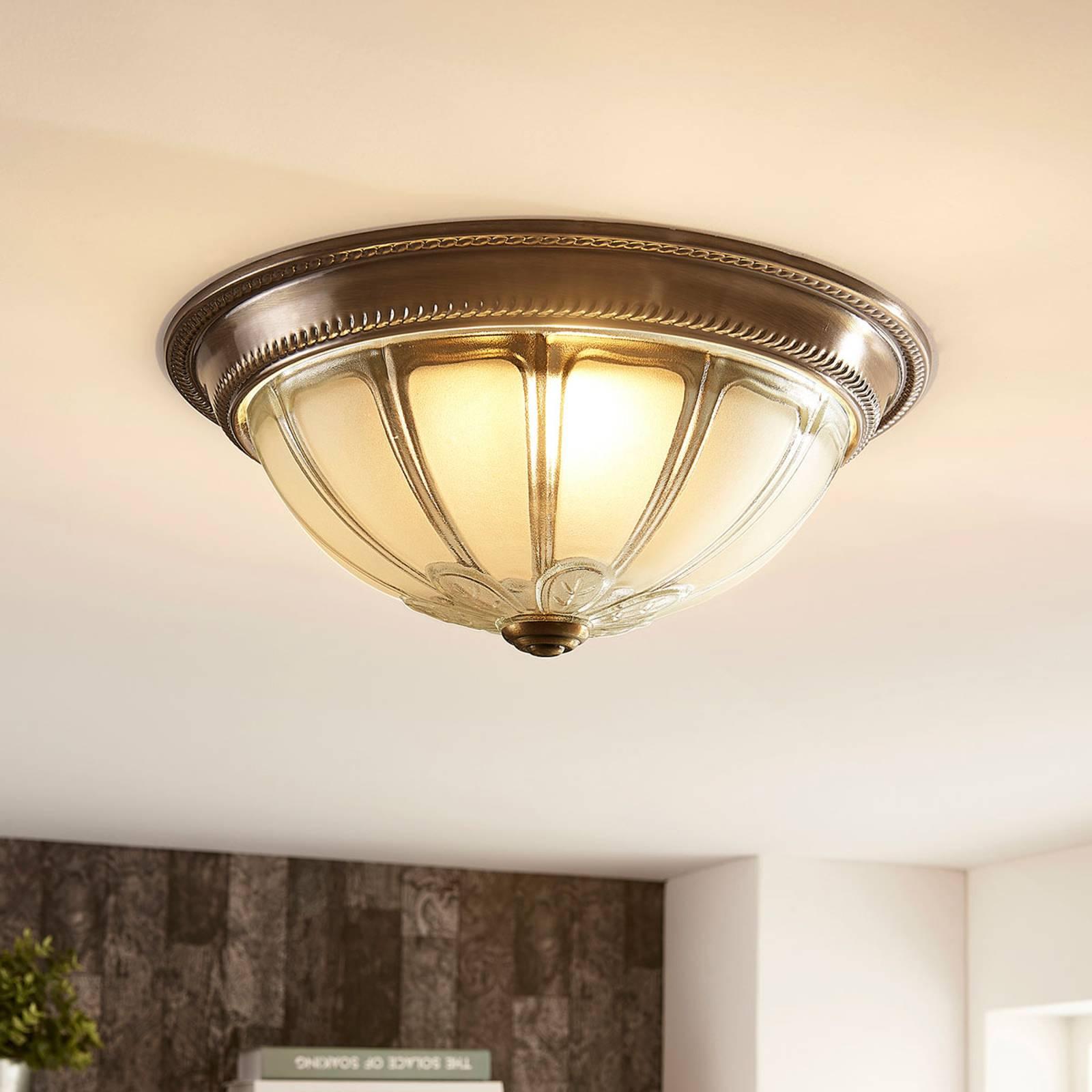 Pyöreä LED-kattovalaisin Henja, himmennettävä