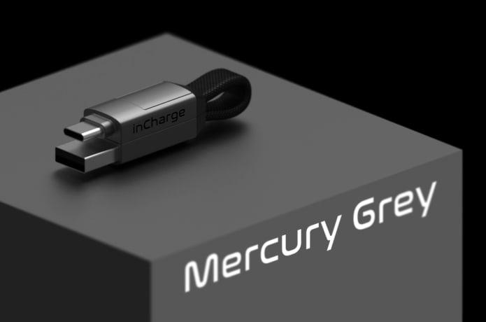 InCharge 6 Mercury Grey
