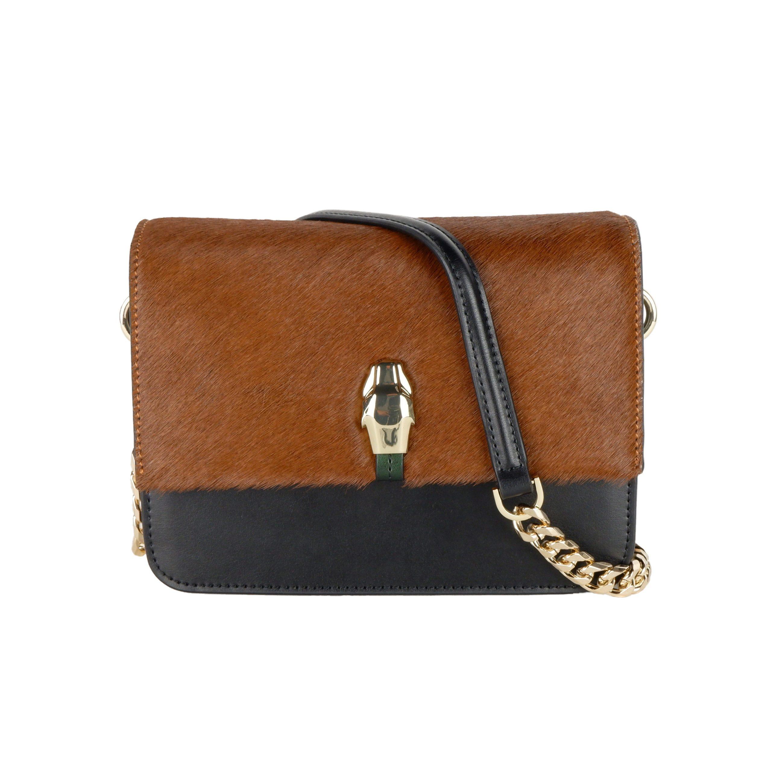 Cavalli Class Women's Shoulder Bag Brown CA1421167