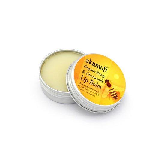 Akamuti Organic Honey & Chamomile Lip Balm, 10 ml