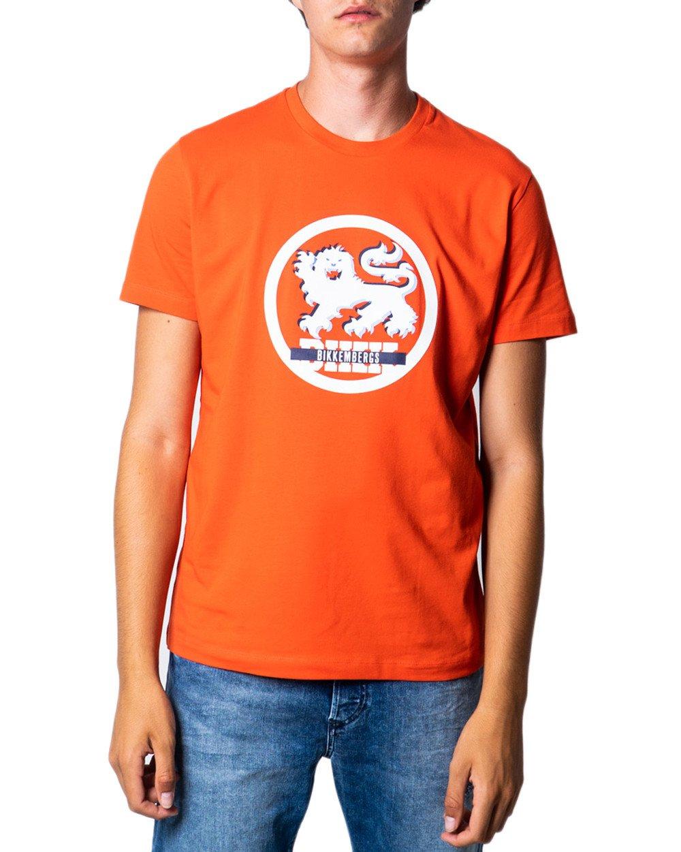 Bikkembergs Men's T-Shirt Various Colours 175541 - orange S
