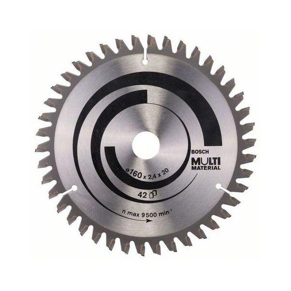 Bosch 2608640503 Sagklinge 160 x 2,4 x 20/16 mm, 42T