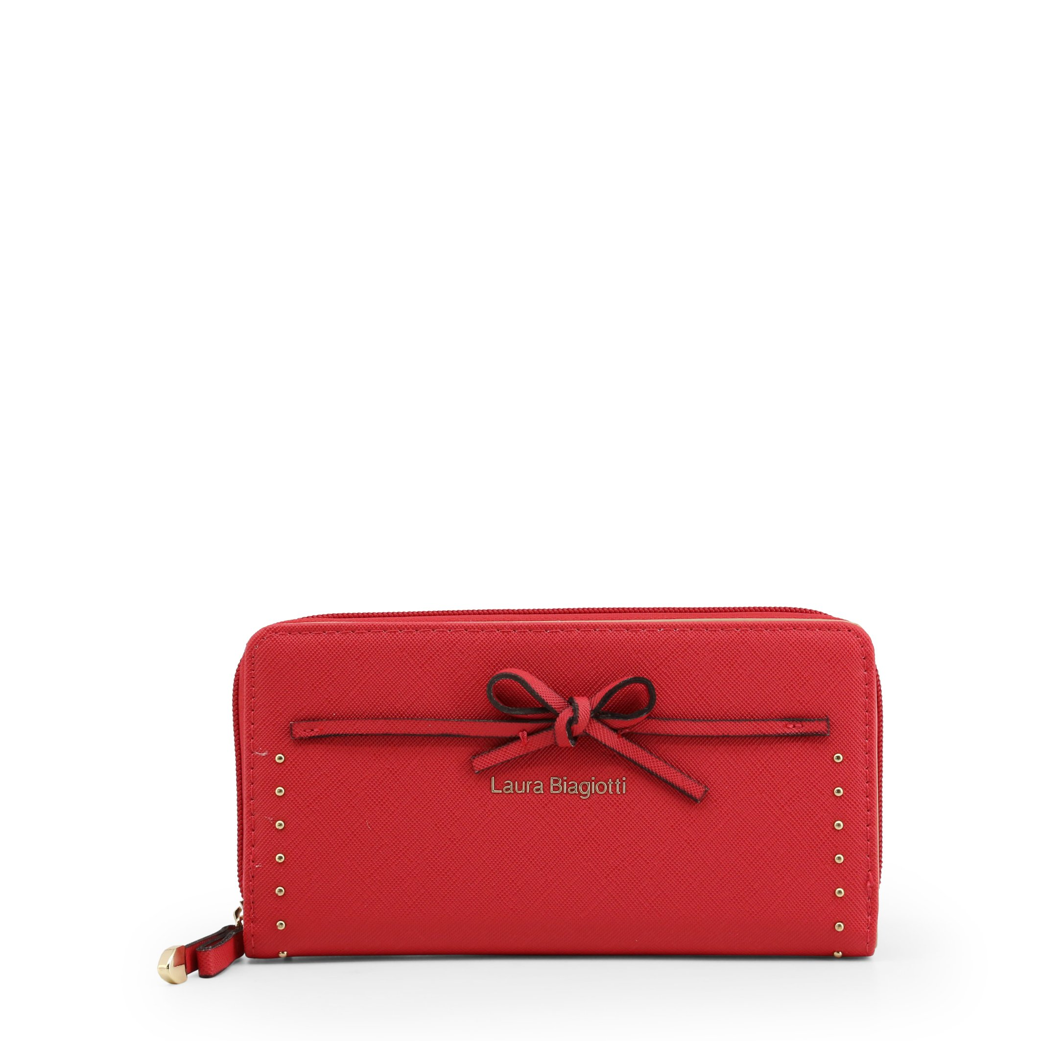 Laura Biagiotti Women's Wallet Various Colours Collar_513-67 - red NOSIZE
