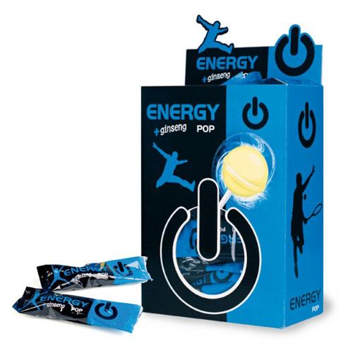 Energy Klubba Ginseng Pop 11gx50 st