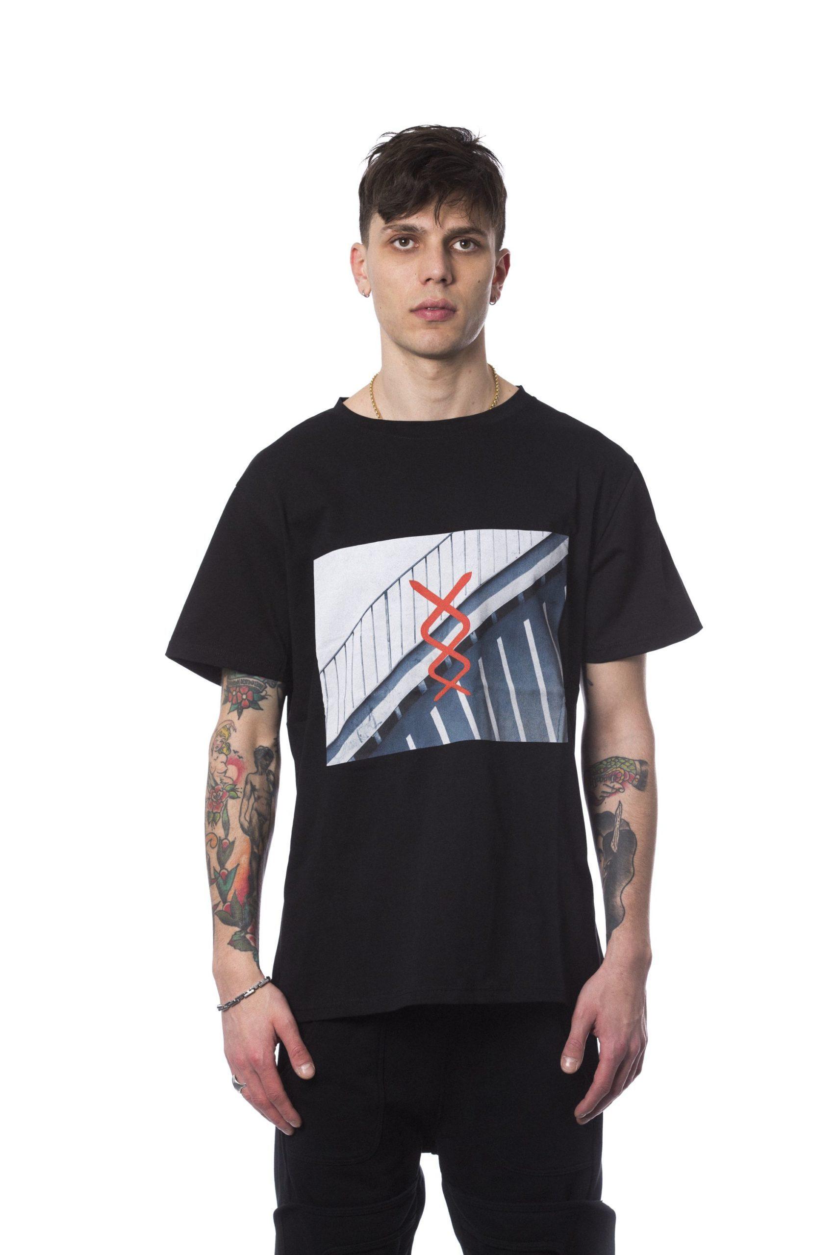 Nicolo Tonetto Men's Nero T-Shirt Black NI681737 - M