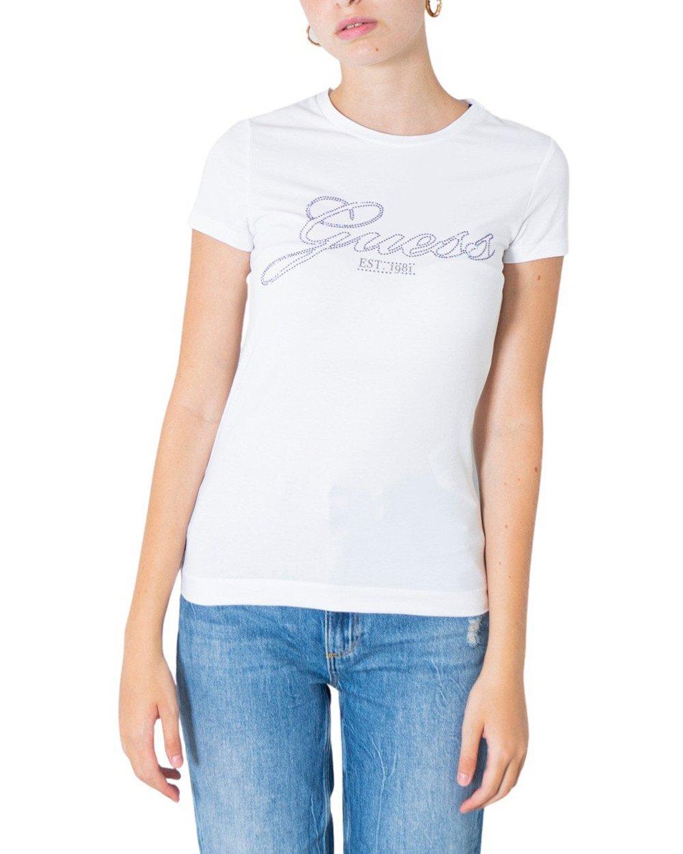 Guess Women's T-Shirt Various Colours 304925 - white XS