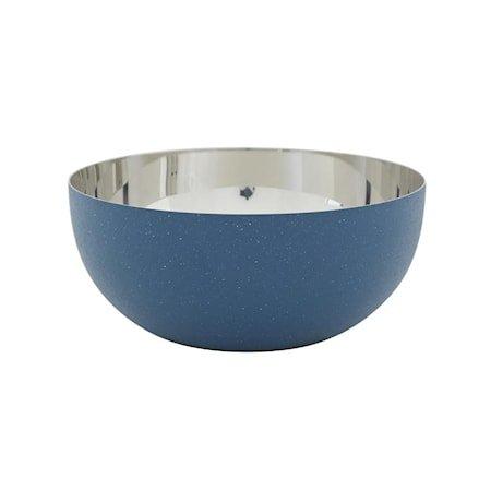 Patrick Skål 15,5 cm Blå/Sølv