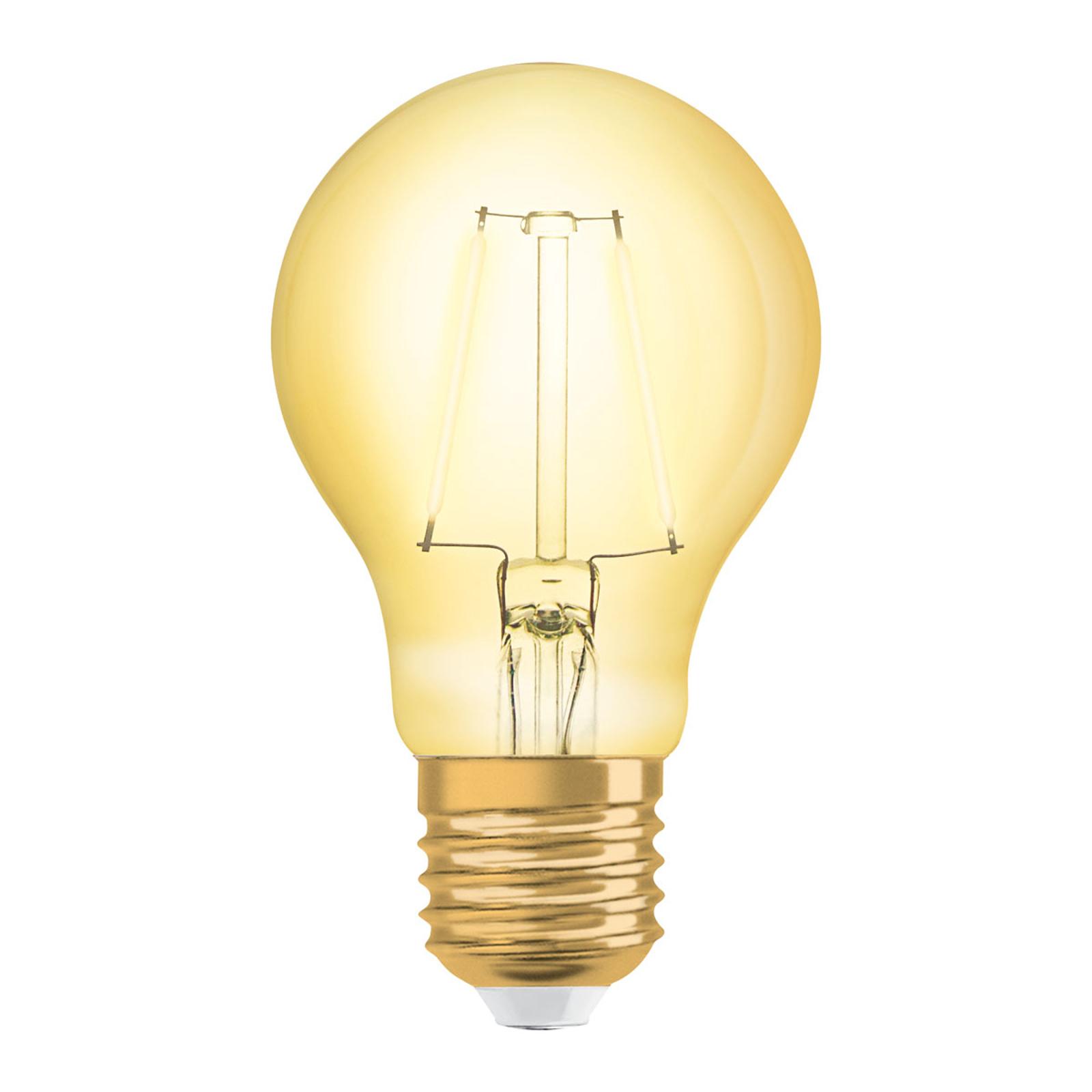 OSRAM-LED-lamppu E27 2,5W 1906 ClassicA 2400K gold
